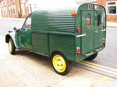 2cv AZU Look what turned up today