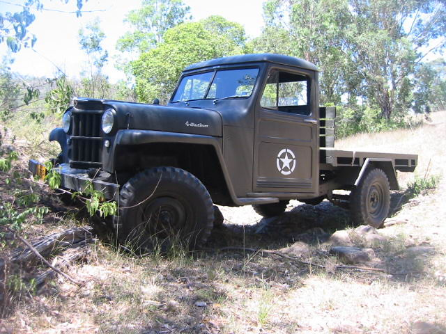 1958 Willys Jeep Wagon http://www.flickr.com/photos/12653915@N08/1309131315/