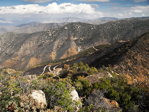 california mountain nature ecology canon landscape outdoors fire hiking canyon burn area vegetation burned sierraclub hps g11 kernville sequoianationalforest lakeisabella southernsierra hundredpeakssection baldeaglepeak piutecypressresearchnaturalarea