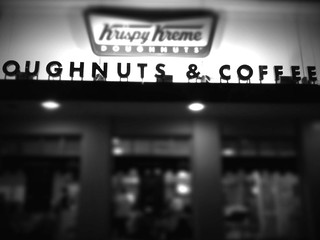 Oh Nutts, Krispy Kreme is going under #iPhoneography #iPhoneographer