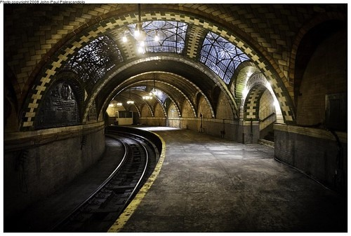 NYC City Hall Subway Station 1