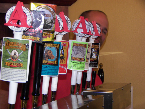 Tap Handles @ Avery Brewing