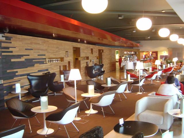 Virgin Atlantic Lounge Gatwick