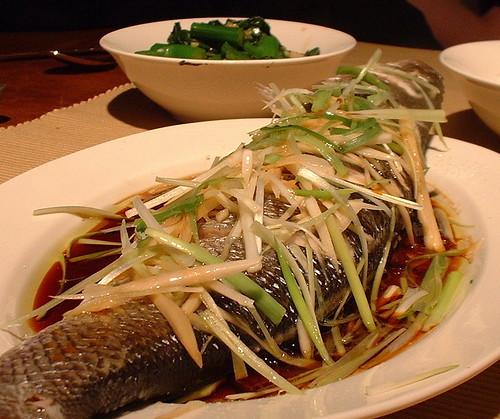 Kantonees gestoomde vis