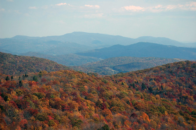 Fall is simply beautiful at Grayson Highlands State Park