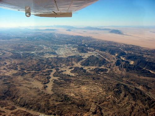 africa flying inflight mine desert iran nuclear aerial uranium radioactive airborne namibia namib openpit yellowcake rossing erongo namibnaukluftnationalpark rössinguraniumlimited libyansoup lpindustrial