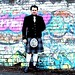 Small photo of Andy Miah. Yes, in a kilt