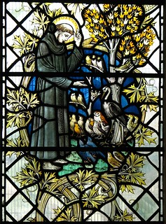 St Francis preaching to the birds