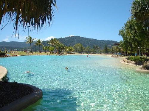 Swimming Lagoon, Airlie Beach, Australia