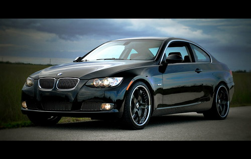 BMW 335i on CUSTOM SEVAS WHEELS R5