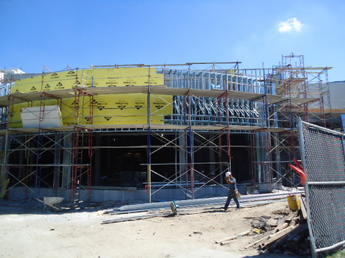 Undergoing Construction of the new Hard Rock cafe at the Seminole Hard Rock Hotel & Casino Tampa