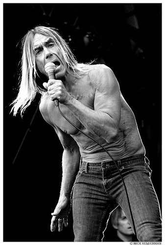 Iggy And The Stooges live at Pinkpop 2007