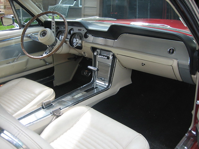 67 mustang fastback interior flickr photo sharing