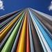 Rainbow tower by Hervé Photos