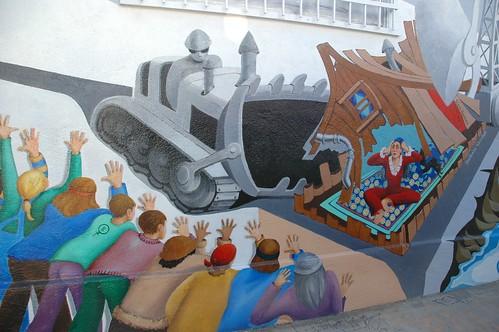 JAYA Mural Venice Beach by Emily Winters