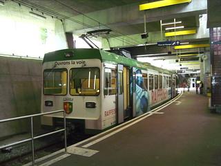 LEB modern train