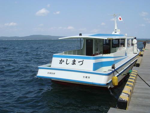 遊覧船かしまづ