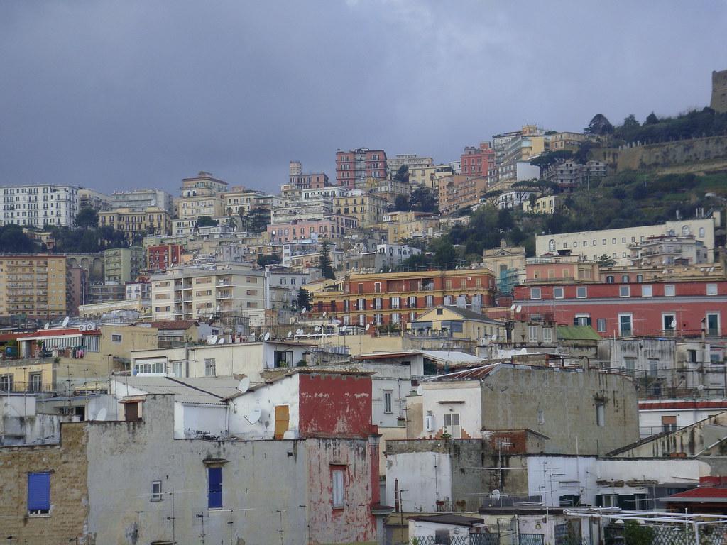 Nápoles Italia Vista De La Ciudad Maryleboners Flickr