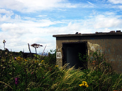 Storage room, Cramond Island