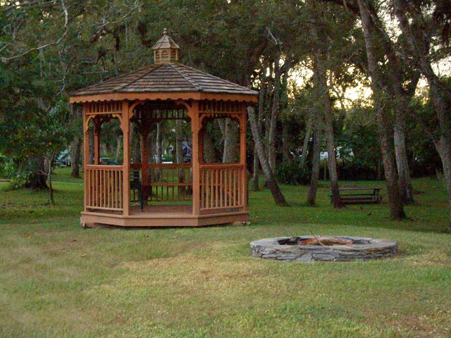 Backyard Gazebo With Fire Pit : Gazebo and Fire Pit in the backyard  Flickr  Photo Sharing!