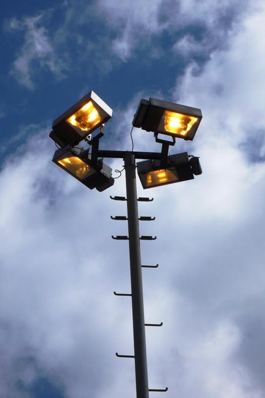 Lights in Migro car park, Langendorf