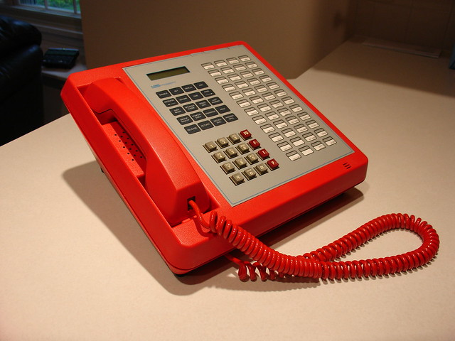 Electrospace Autovon Telephone