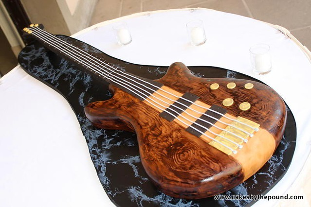 Electric Guitar cake Flickr - Photo Sharing!