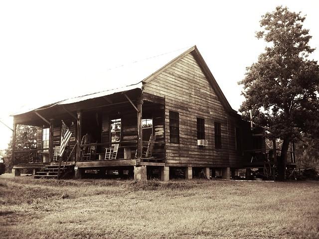 Reeves family dog trot house st helena flickr photo for Dogtrot modular homes