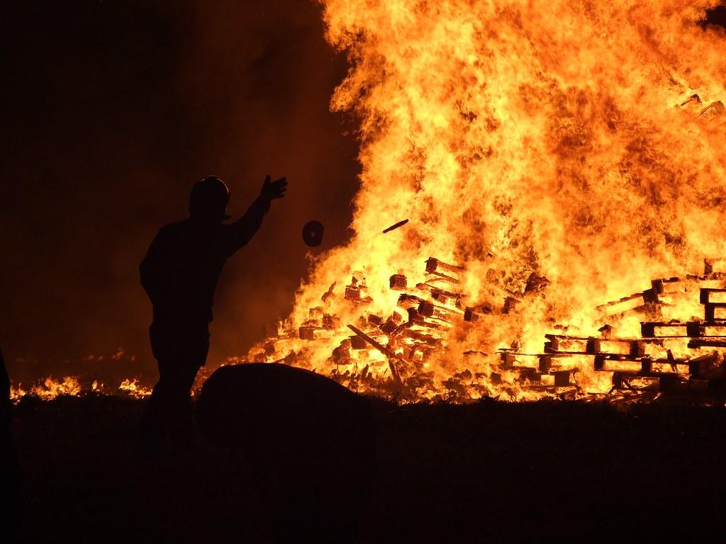 The Bonfire - Alderney Week