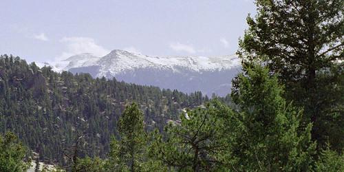 ranch mountains forest rockies colorado altitude rocky pines pikespeak rugged twinrocks muellerstatepark blazym