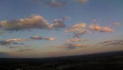 vanilla sky over Bluemont Vineyard, Bluemont, VA