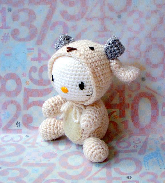 Amigurumi Sheep Doll : Zodiac Sheep-Kitty version/ Amigurumi doll Flickr ...
