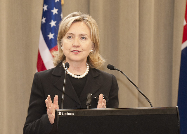 Secretary of State Hillary Clinton in New Zealand - the second day - Wellington and Christchurch, November 2010