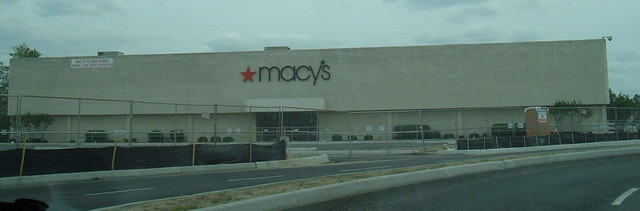 Macys at the former Coliseum Mall
