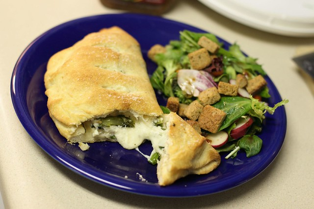 Sausage, broccoli rabe and ricotta calzones | Flickr - Photo Sharing!