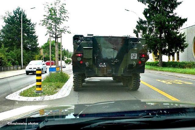 Swiss army Mowag Piranha II APC
