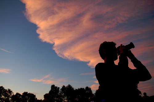 pink sunset summer people music festival clouds photographer greenfield freinds goldenlight westernmass greenriverfestival pentaxk10d
