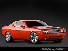 automobile, automotive exterior, dodge, wheel, vehicle, stock car racing, performance car, automotive design, dodge challenger, classic car, land vehicle, muscle car,