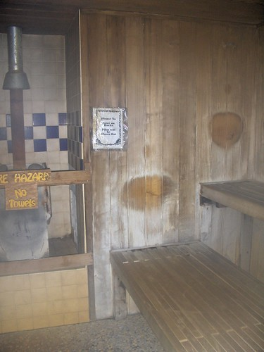 Types of sauna: a wooden one