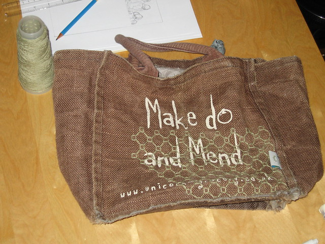 mending bag phase 1 from Flickr via Wylio