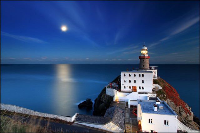Moonrise - Baily Lighthouse - Dublin