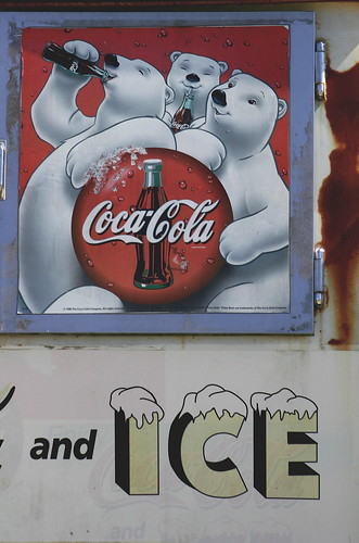 Old Coco Cola sign