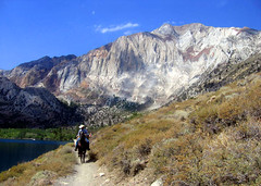 Horseback in the Sierras, Convict Lake