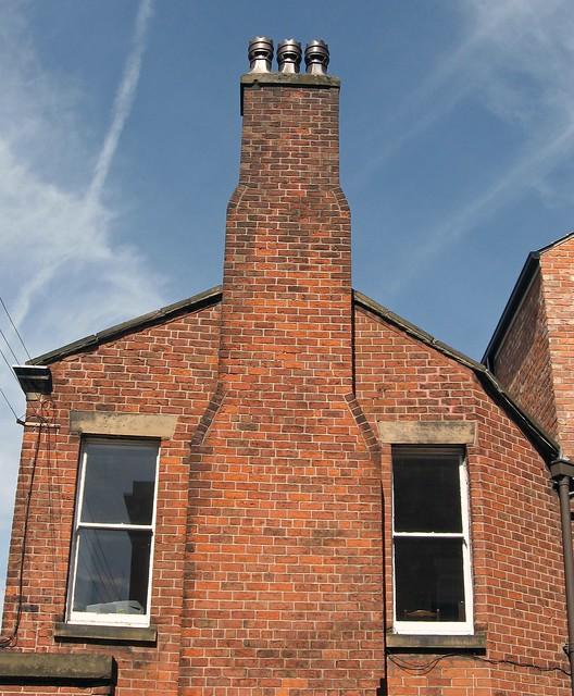 Chimney Stack Smoke Stack With Lustre Glazed Terracotta