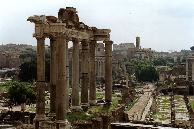 Forum from Capitoline Hill