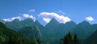 Alpen in Slowenien