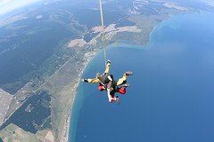 parachute(0.0), windsports(0.0), tandem skydiving(1.0), air sports(1.0), sports(1.0), parachuting(1.0), extreme sport(1.0),