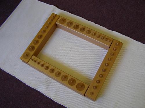 Montessori Cylinder Blocks (Photo by Jess Liotta and Colin Liotta)