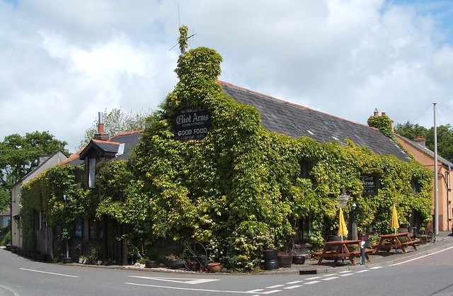 Eliot Arms, Tregadillett (Summer)
