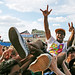 Crowdsurfer at Siren Music Festival by Kathryn Yu